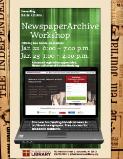 NewspaperArchive Workshop