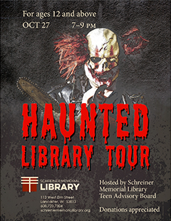 Haunted Library Tour