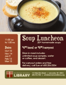 Soup Luncheon