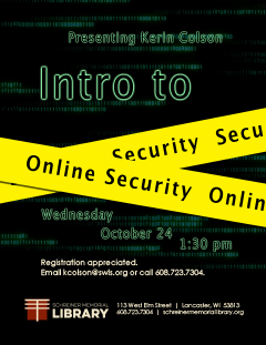 Intro to Online Security