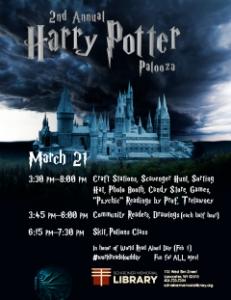 2nd Annual Harry Potter Palooza