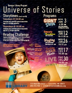 Summer Library Program-Universe of Stories