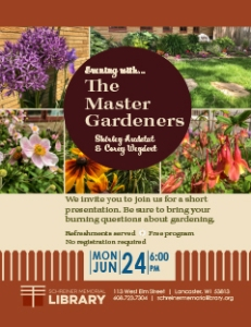 Evening With The Master Gardeners