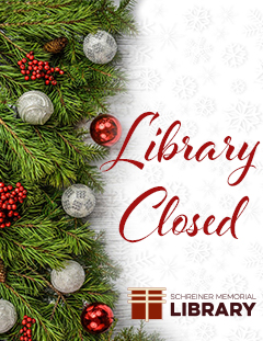 Special Hours + Library Closed