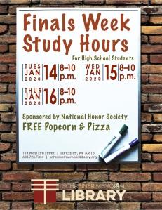 Finals Week Study Hours